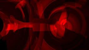 4k resumen el fondo cristalino de cristal de la tecnología del túnel de los datos de la joya de la cáscara espiral ilustración del vector