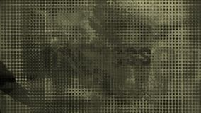 4k resumen el fondo material de la película de los archivos de la historia, memorias de la gente del descubrimiento ilustración del vector