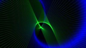 4k resumen las líneas fondo del arte de la fantasía, ficción de la curva de la ciencia espacial del universo libre illustration