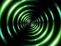 4K ring lens flare forward green. Beautiful lens flare effect is simple to add on background vector illustration