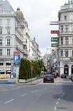 Kärntner Strasse, Vienna Stock Photography