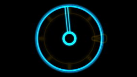 4k rotation tech GPS background,software panel & Radar scan. stock video