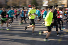 10K Runners Royalty Free Stock Photos