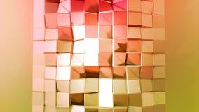 4k säubern niedrigen lebhaften Polyhintergrund in der Schleife Nahtlose Animation 3d im modernen geometrischen Stil mit moderner  vektor abbildung