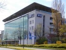 K+s άργυρος, Kassel, Γερμανία, έδρα, κτήριο, Στοκ Εικόνες