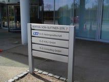 K+s ag, Кассель, Германию, управление, здание, стоковые изображения rf