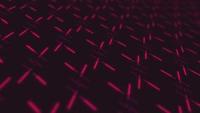 4k seamless loop animation with moving geometric shapes. stock footage