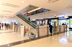 K11 shopping mall interior hong kong Royalty Free Stock Image
