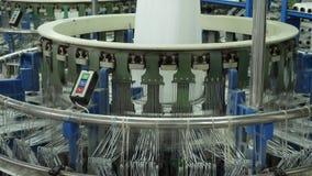 4K som för tillverkning av väver den plast- växten eller polypropylenepåsar arkivfilmer