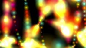 4k sottraggono il fondo del fuoco dei fuochi d'artificio, particella di nozze, contesto dell'universo della galassia stock footage
