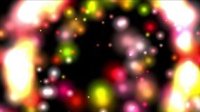 4k sottraggono il fondo del fuoco dei fuochi d'artificio, particella di nozze, contesto dell'universo della galassia archivi video