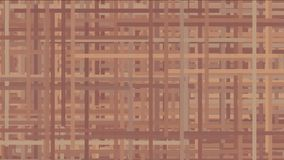 4k sottraggono le linee fondo trasversale, fibra della rete a maglia parziale, tagliatelle della corda di arte della geometria archivi video