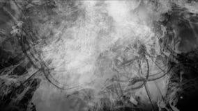 4k sottraggono le nuvole appannano il fumo della spruzzata, fondo delle particelle dei fuochi d'artificio del vapore del gas archivi video