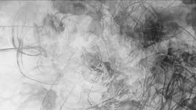 4k sottraggono le nuvole appannano il fumo della spruzzata, fondo delle particelle dei fuochi d'artificio del vapore del gas illustrazione vettoriale