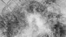 4k sottraggono le nuvole appannano il fumo della spruzzata, fondo delle particelle dei fuochi d'artificio del vapore del gas royalty illustrazione gratis