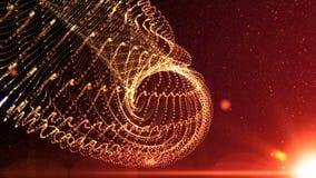 4k soustraient les lumières brillantes de fond de mouvement, boucle sans couture d'énergie banque de vidéos