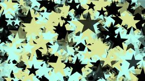 4k Stars particle background,USA United States American flag five-pointed star. 4k Abstract stars particles background,cartoon USA United States American flag stock video footage
