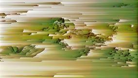 4K stilisierte in hohem Grade Daten Mosh Verzerrung, Pixel-Sortieren und Störgeräusch vektor abbildung