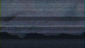 4K stilisierte Pixelgeräuschstörschub-Fehlerschaden stock abbildung