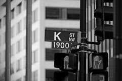 K Street Stock Photography
