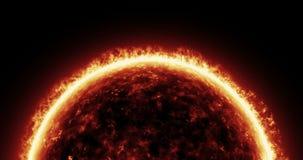4K Sun Atmosphere Stock Photo