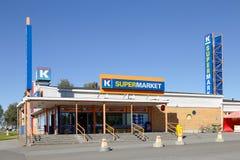 K-supermarket Ykkonen Stock Images