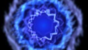 4k swirl rotation wave fancy pattern light,dynamic vj material. stock video