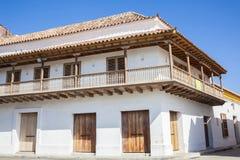 Kąt Cartagena De Indias Obrazy Stock