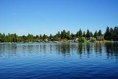 Kąt jezioro Obraz Stock