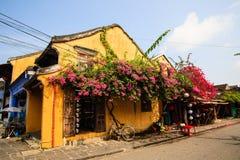 Kąt w Hoi Antyczny miasteczko, Quang Nam Wietnam Obrazy Stock