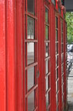 K6 Telefonzellen Lizenzfreies Stockbild