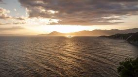 4K tijdtijdspanne, Isola-d'Elba, Italië stock videobeelden