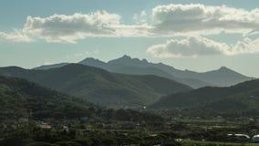 4K tijdtijdspanne, Isola-d'Elba, Italië stock footage