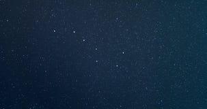 4K time lapse chochli lub Wielkiego niedźwiedzia gwiazdozbiór Ursa Ważnej lub Dużej zbiory wideo