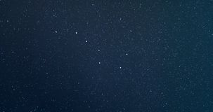 4K Time Lapse of Ursa Major or Big Dipper or Great Bear Constellation