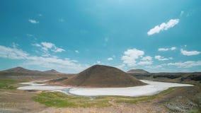 4k Timelapse της λίμνης κρατήρων Meke σε Konya, Τουρκία απόθεμα βίντεο