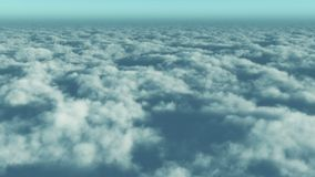 4k timelapse,aerial of white cloud mass flying in sky from high altitude. 4k timelapse,aerial of white cloud mass flying in sky from ten thousand meters high stock video footage