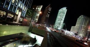 4K Timelapse Berlin, Potsdam Square stock footage