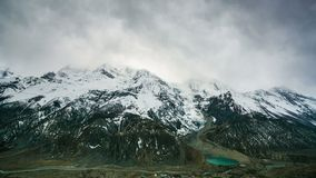 4k Timelapse of Gangapurna mountain, 7,455 m stock footage