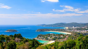 4K timelapse of Phuket viewpoint, Southern of Thailand stock video footage
