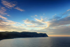4K. Timelapse sunrise in the mountains. Balaklava, Crimea, Ukraine. FULL HD stock footage