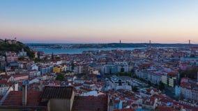 4K timelapse της ακτής του Εστορίλ κοντά στη Λισσαβώνα στην Πορτογαλία - UHD απόθεμα βίντεο