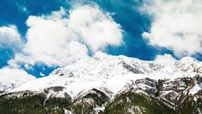 4k Timelapse van Annapurna III berg, 7.555 m stock video