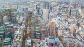 4k timelapse wideo miasto od dnia noc zdjęcie wideo