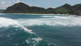 4K trutnia materiał filmowy Indonezja Lombok zbiory wideo
