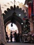 K?ty w ulicach ld Medina w Marrakech w Maroko obrazy royalty free