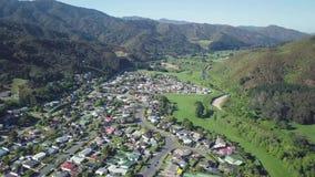 4K typowy sąsiedztwo, Nowa Zelandia anteny zbiory wideo