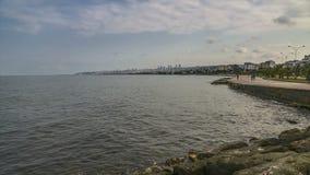 4K UHD Time lapse of Atakum seaside Samsun, Turkey stock video footage