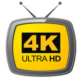 4K ultra HD Immagine Stock