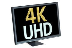 4K Ultra HD concept Royalty Free Stock Photography